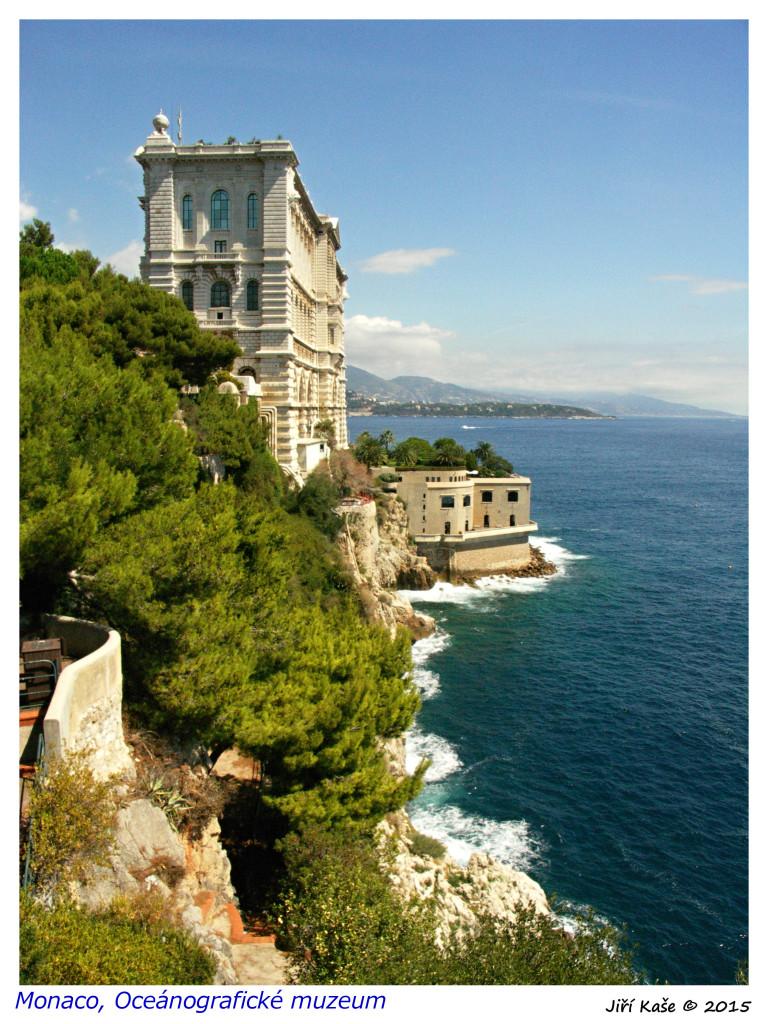 Monaco 2016 Muzeum oceánografie