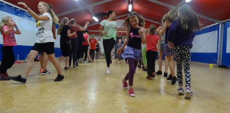 Letní taneční tábory a soustředění 2016